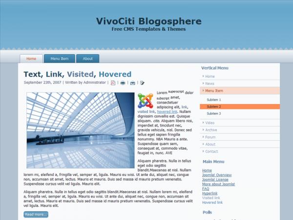 For Joomla 1.6.x, Wide, Valid XHTML, Valid CSS
